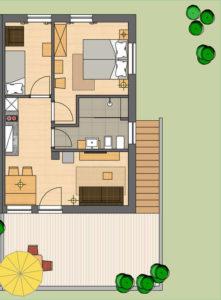 Appartamento Weissburgunder a San Paolo di Appiano in Alto Adige